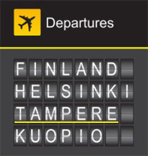 Flights to Tampere - Finland