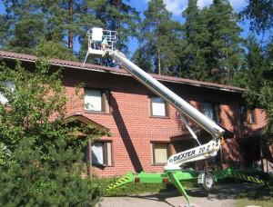 Hämeen Rakennuskone Oy - Kangasala - henkilönostimet