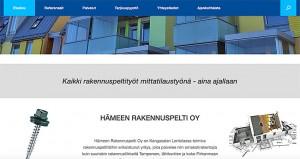 Kotisivut - Referenssit - Hämeen Rakennuspelti - Kangasala