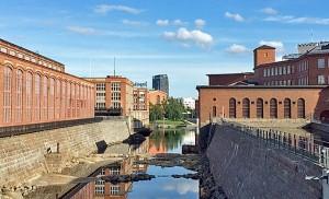 Tammerkoski ja Vapriikki - Tampere | Tammerkoski Rapids