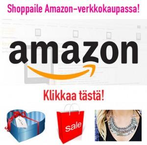 Shoppaile Amazonin verkkokaupassa