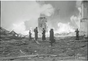 Fires of the war - Tampere Winterwar 1940