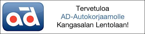 AD-Autokorjaamo Kangasalan Lentolassa