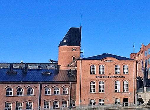 Hämeen Rakennuspelti Oy - Teatteri Frenckell kattoremontti - Tampere
