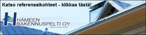 Hämeen Rakennuspelti Oy - Kattoremontti - referenssit - Tampere