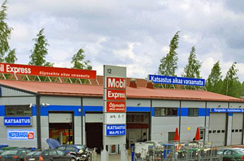 Kangasalan Autokatsastus Oy palvelee Lentolassa