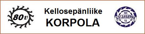 Kellosepänliike Korpola - Korut