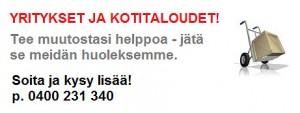 Muutto ja kuljetukset Kangasala ja Tampereen seutu