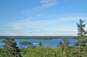 Vehoniemen näkötornista avautuu kauniit maisemat : )