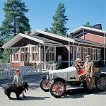 Vehoniemen Automuseo - Vehoniemenharjulla Kangasalla