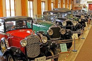 Vehoniemen Automuseoon vapaa pääsy. Tervetuloa!